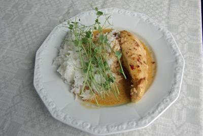 djupfryst kyckling i ugn